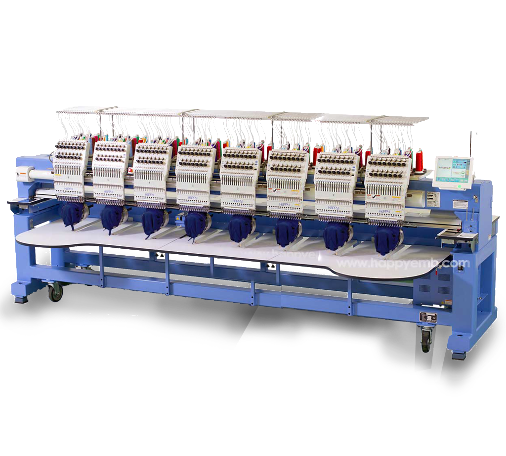 Eight Head Embroidery Machine